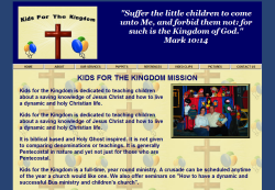Kids for The Kingdom Ministries'